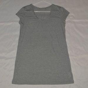 ATHLETA Gray Shirt Tunic Size Large